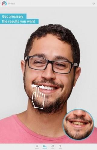 Facetune脸部优化截图(1)