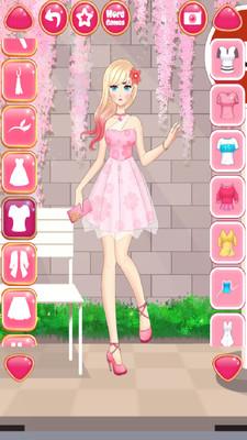 美少女時尚換裝截圖(1)