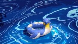 非人学园哪吒休闲一夏时装怎么样 哪吒夏日泳装皮肤特效展示