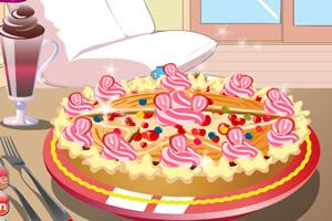 制作草莓饼小游戏