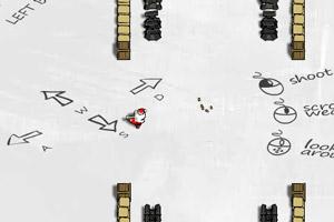 僵尸危机圣诞修改版小游戏