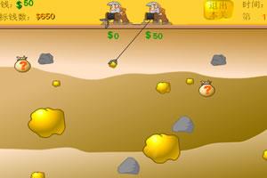 矿工挖金子无敌版小游戏