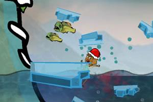 恐怖食人鱼4圣诞版小游戏