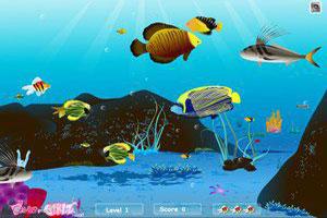 水底世界小游戏