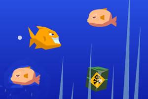 吃鱼小游戏