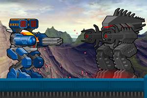 机器人大对战小游戏