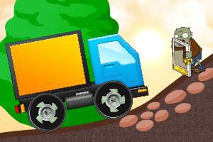 僵尸挑战大卡车小游戏