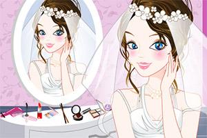 新娘梳妆台小游戏