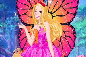 芭比之蝴蝶仙子2小游戏