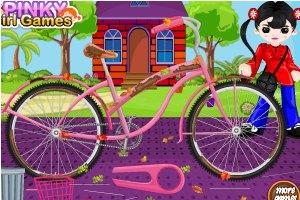 飞鸽自行车小游戏