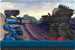 機器人大對戰中文版小游戲