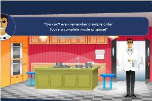 厨房配菜员小游戏