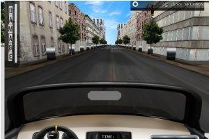 3D汽车城市试驾小游戏