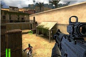 射击禁区小游戏