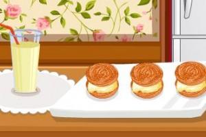 制作冰淇淋三明治小游戏