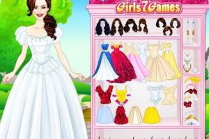 白雪公主的新衣小游戏