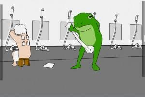 奇怪的洗澡堂小游戏