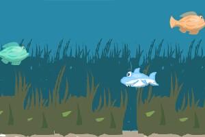 深海小鲨鱼小游戏