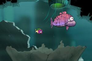 深海变异鱼小游戏