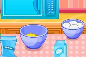 棉花糖杯子蛋糕小游戏