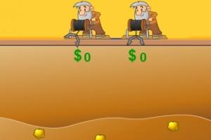 双人黄金矿工疯狂版3小游戏
