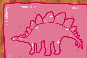制作恐龙蛋糕小游戏