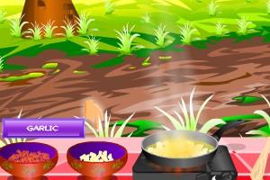 泰国椰子鸡小游戏