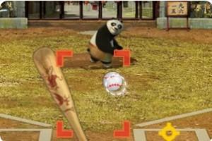 功夫熊猫打棒球小游戏