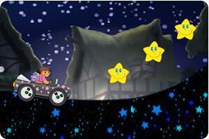 朵拉黑夜驾驶小游戏