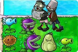 你没玩过的植物大战僵尸3小游戏