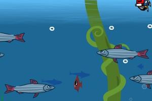 凶猛大鱼吃小鱼小游戏