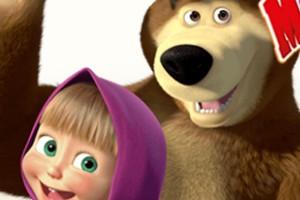 玛莎和熊糖果泡泡龙小游戏
