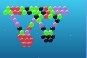 海珍珠泡泡龙小游戏