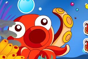 海洋泡泡小游戏