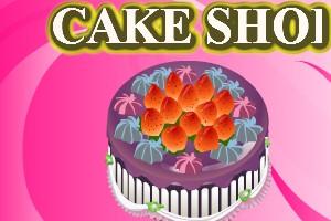 水果蛋糕装饰店小游戏