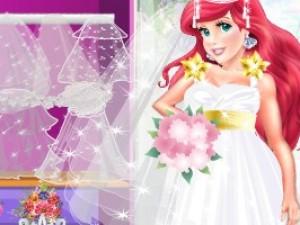 芭比的华丽婚礼小游戏