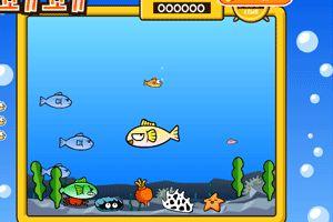 大鱼吃小鱼小游戏
