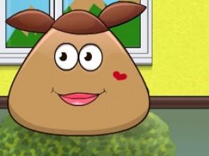 土豆姑娘爱洗澡小游戏
