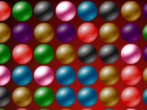 氣泡對對碰小游戲