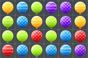 滑動氣球小游戲
