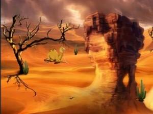 逃出廣袤沙漠小游戲