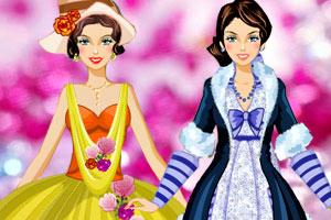 芭比公主礼服秀小游戏