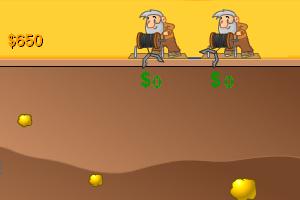 黄金矿工双人修改版小游戏