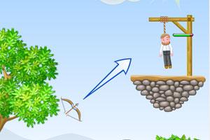弓箭手救小人2中文版小游戲