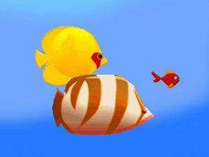 吞食鱼食物链小游戏