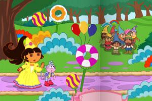 朵拉童话王国探险小游戏