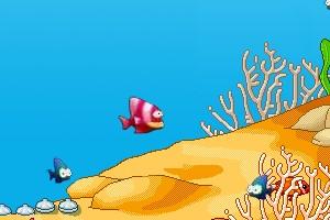 贪食鱼小游戏