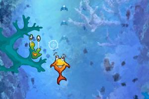 小鱼闯关小游戏