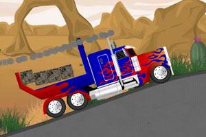 变形金刚大卡车小游戏