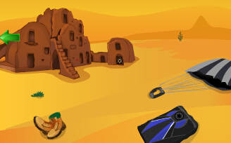 撒哈拉沙漠逃生小游戏